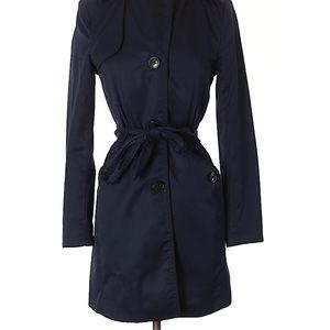 H&M Dark Blue Trenchcoat